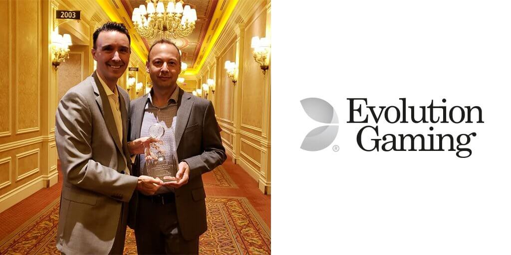 Evolution's Lightning Roulette Wins 'Product Innovation of the Year' at G2E Las Vegas 2018